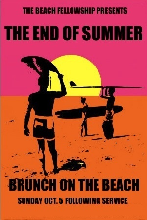 Brunch on the beach 2014